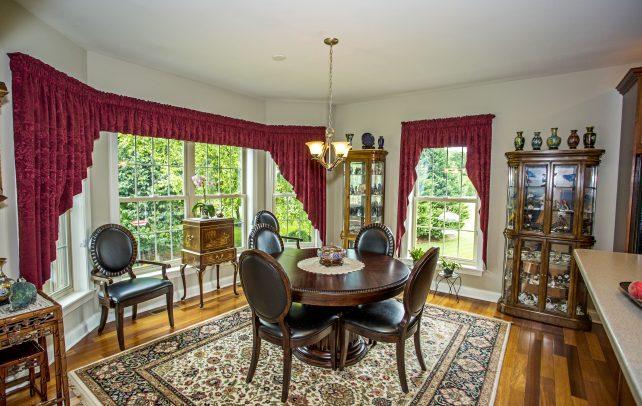 Inviting Tudor Dining Area