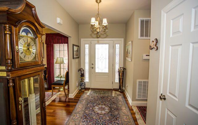 Inviting Tudor Inside Hallway