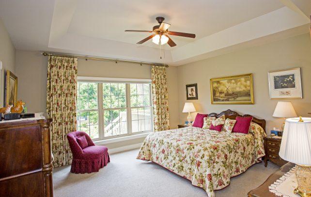 Inviting Tudor Bedroom 1