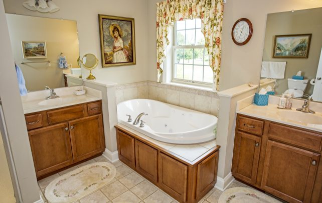 Inviting Tudor Bathroom