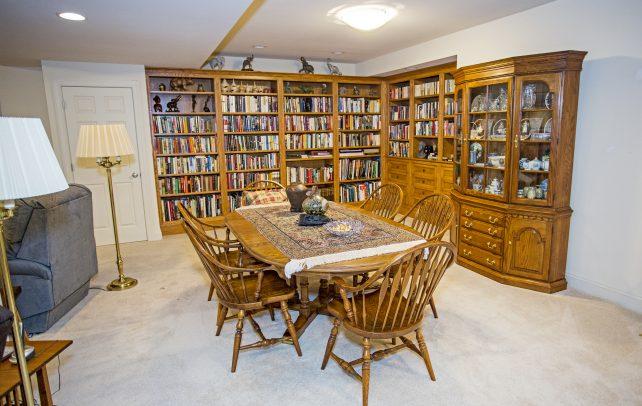 Inviting Tudor Library