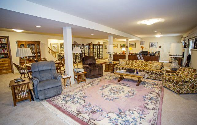 Inviting Tudor Living Area